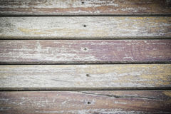 Old wooden floor background. Outdoor Royalty Free Stock Images