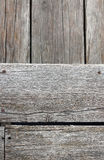 The old wooden floor gradient well. Royalty Free Stock Photo