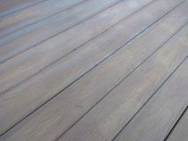 Old wooden floor because it has passed a long time. Old wooden floor has passed long time royalty free stock photo