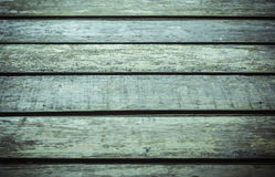 Old wooden floor, outdoor. Royalty Free Stock Photography