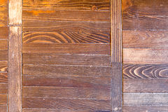 The old wooden floor. Stock Images