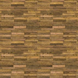 Old Wooden Floor Seamless Pattern Stock Image