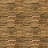 Old Wooden Floor Seamless Pattern Stock Image
