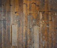 Old wooden floor or wall Stock Photo