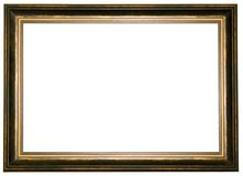 Old wooden frame Stock Image