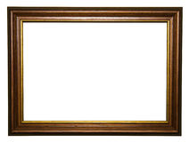 Old wooden frame Stock Images