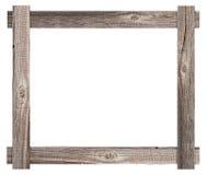 Old wooden frame. Background for design Stock Image