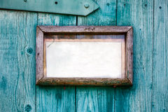 Old wooden frame closeup. Stock Images