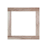 Old wooden frame isolated. Stock Images