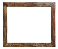Old wooden frame Royalty Free Stock Photos