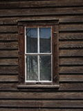 Old Wooden Framed Window In Restored Building Royalty Free Stock Photo