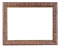 Old wooden framework. It is possible to insert a photo into them Stock Image