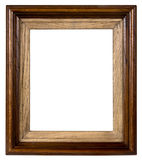 Old wooden framework. It is possible to insert a photo into them Royalty Free Stock Images