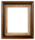 Old wooden framework. It is possible to insert a photo into them Royalty Free Stock Photography