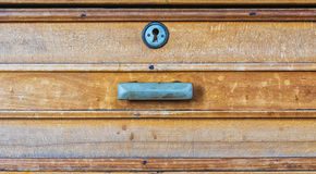 The old wooden furniture box Royalty Free Stock Photography