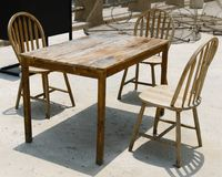 Old wooden furniture. royalty free stock photography