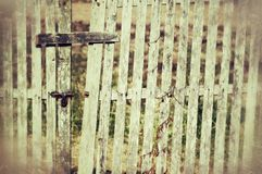 Old wooden  gate Royalty Free Stock Photo