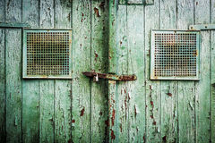 Old wooden gate Royalty Free Stock Image