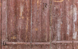 Old wooden gate in the countryside Stock Photos