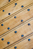 Old wooden gate details Stock Photography