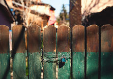 Old Wooden Gate Royalty Free Stock Photos