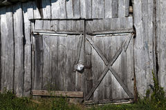 Old wooden gate Royalty Free Stock Photography