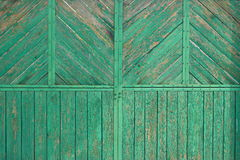 Old wooden gate. Of the suburban area royalty free stock photos