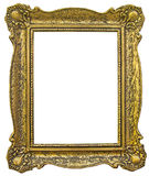 Old wooden gilded Frame Royalty Free Stock Photos