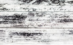 Old wooden gray rustic background with horizontal boards Royalty Free Stock Images