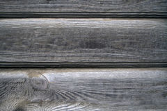 Old wooden gray wall Royalty Free Stock Photography