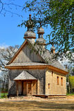 Old wooden Greek Catholic church Stock Image