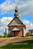 Old wooden Greek Catholic church Royalty Free Stock Photos