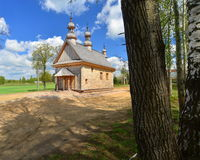 Old wooden Greek Catholic church Royalty Free Stock Photo