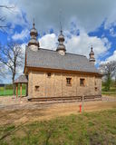 Old wooden Greek Catholic church Stock Image