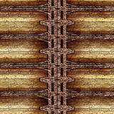 Old wooden grungy frame Royalty Free Stock Image
