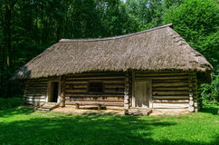 Old wooden gutsul house Royalty Free Stock Photos