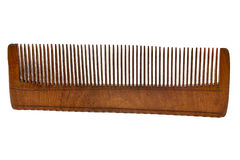 Old Wooden hairbrush Royalty Free Stock Photography