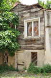 Old wooden hause Stock Photos