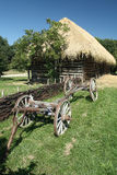 Old Wooden Hay Wagon Royalty Free Stock Photography