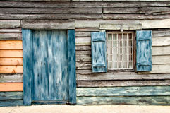 Old wooden home. In the historic city of Saint Augustine, Florida royalty free stock photography