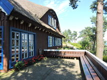 Old wooden home, Lithuania Stock Image