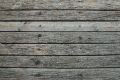 Old wooden horizontal plank vintage texture background with copy space royalty free stock images