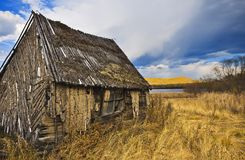 Old wooden house Royalty Free Stock Photos