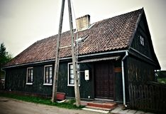 Old wooden house Royalty Free Stock Photo