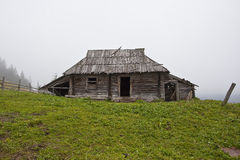 Old wooden house Stock Image
