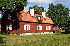 Old wooden house. Royalty Free Stock Image