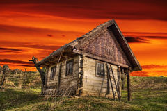 Free Old Wooden House Royalty Free Stock Photography - 49133777