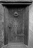 Old Wooden House Door. And knocker Royalty Free Stock Photo