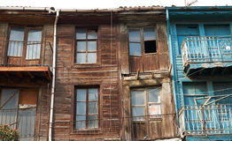 Old wooden house in Edirne town Stock Photography