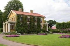 Old wooden house in garden of Tradgardsforeningen Stock Photo